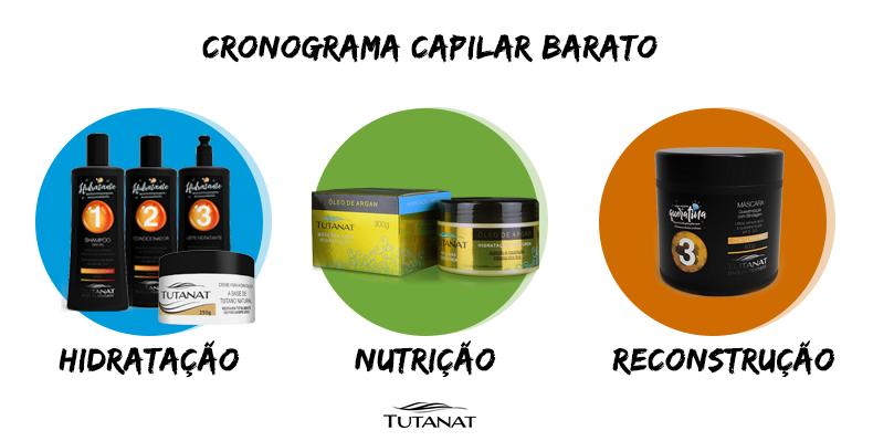 Cronograma Capilar barato: saiba a importância para a saúde dos seus cabelos